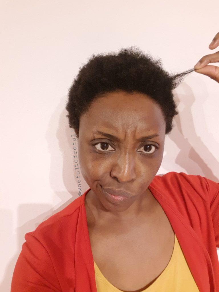 confused pre-trim face