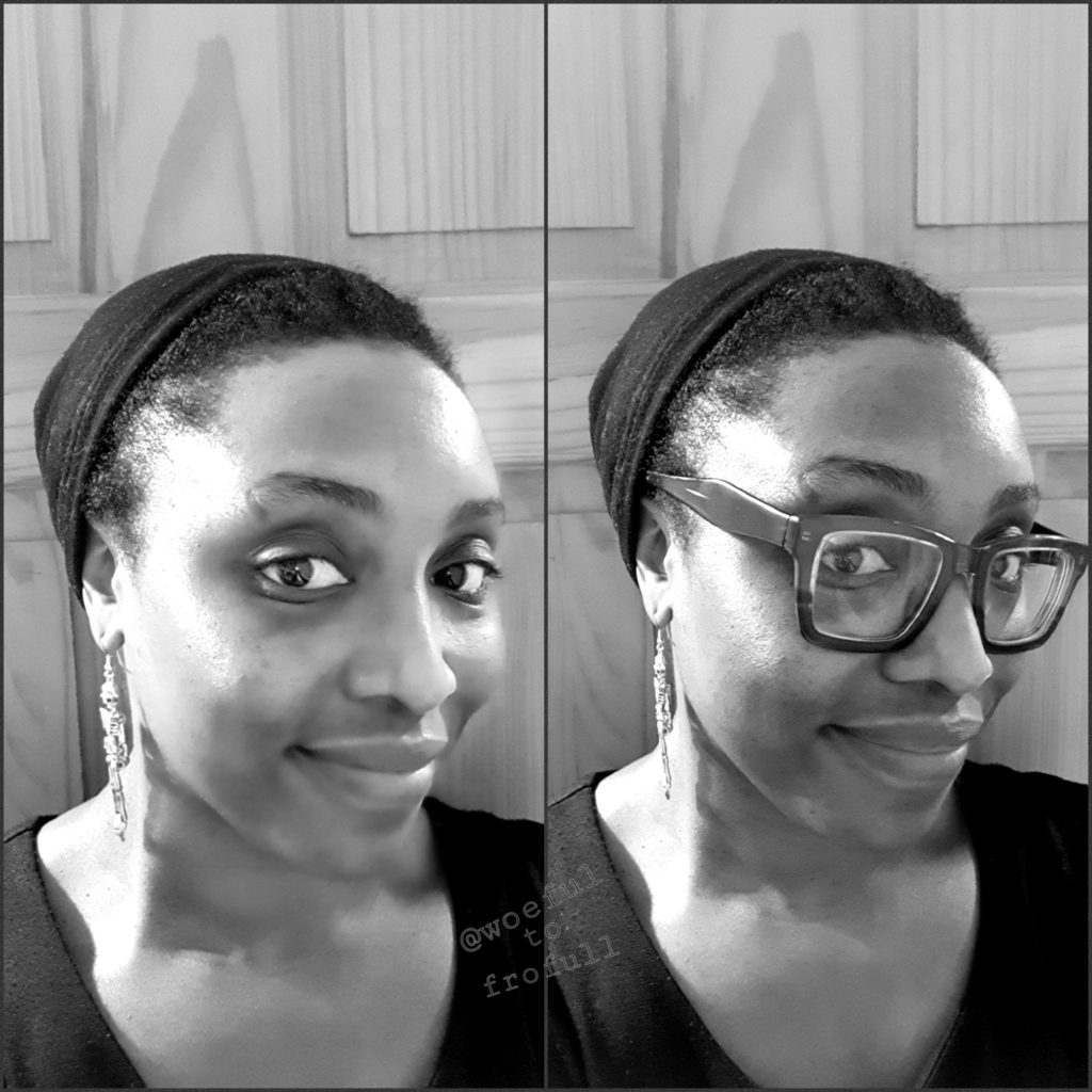 beanie natural hair woeful to frofull protective style
