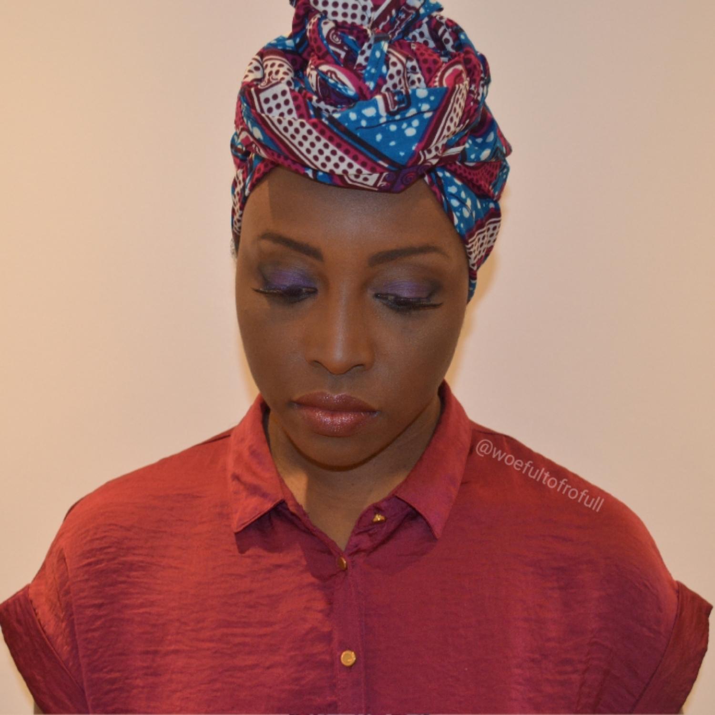 Girl in a headwrap