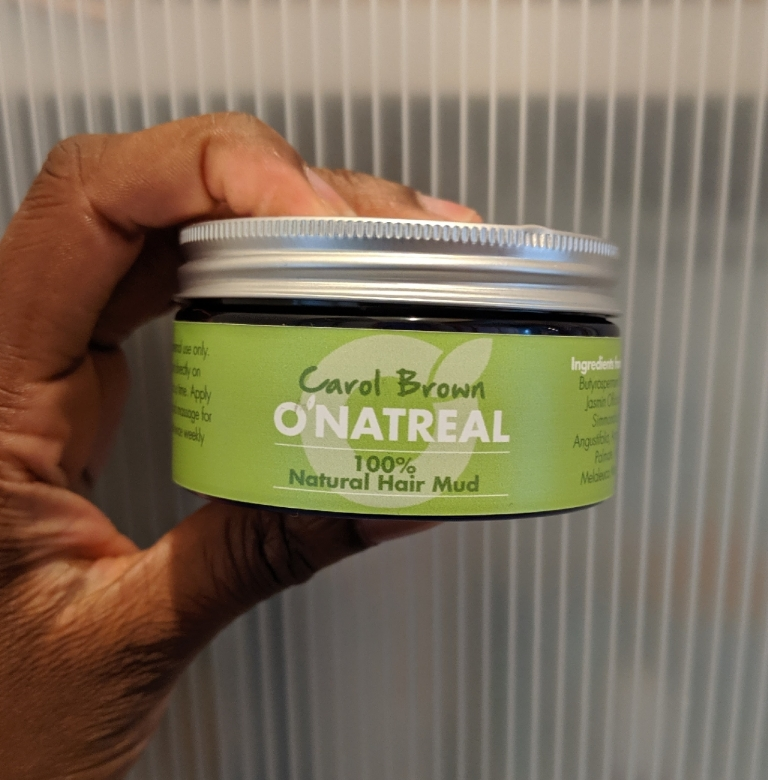 carol brown o'natreal natural hair mud woeful to frofull