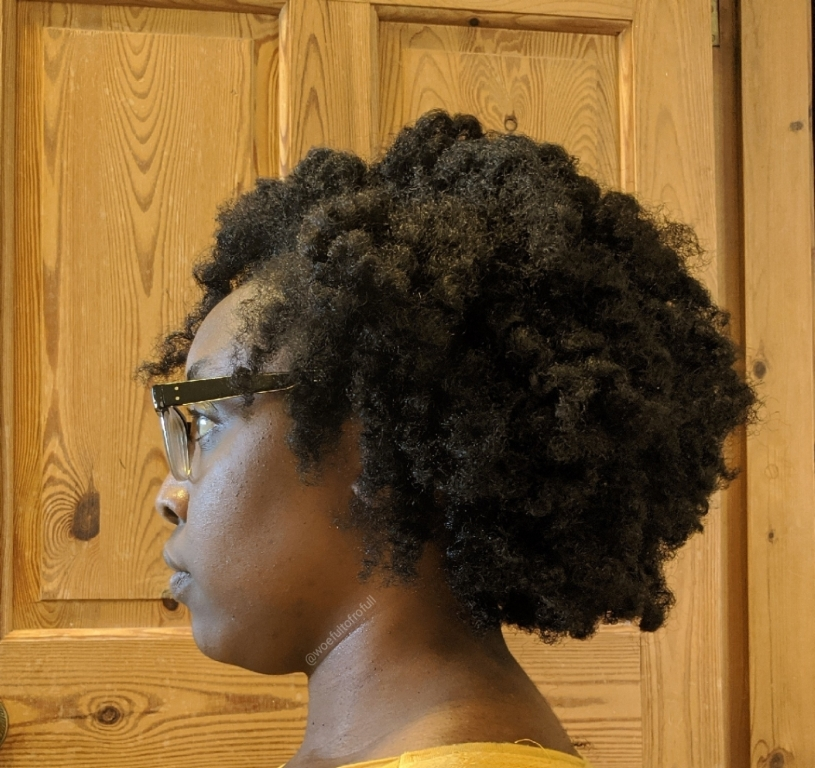 woeful to frofull, twist out, fluffy fro