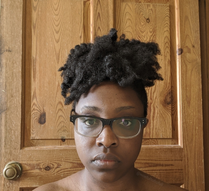 woeful to frofull, type 4 hair, old twist out
