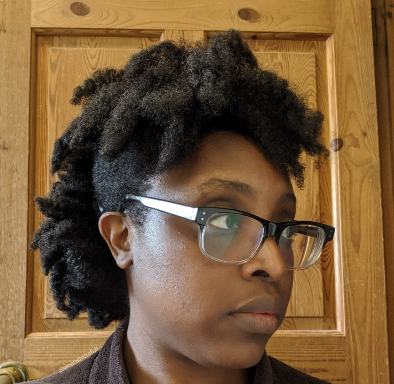woeful to frofull, frohawk, type 4 hair, twist out