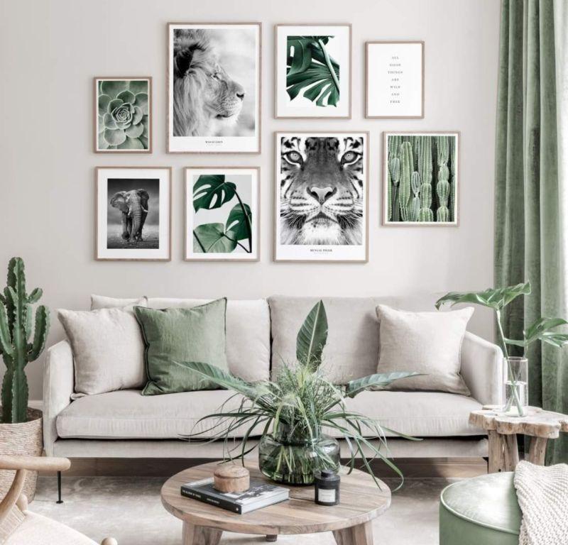 green pics